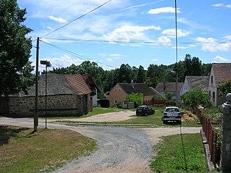 Pocoucov - Central part of the Pocoucov