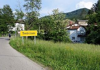 Trebižani Place in Slovene Littoral, Slovenia
