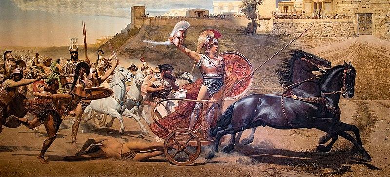 File:Triumphant Achilles in Achilleion levelled.jpg