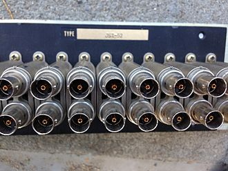Patch panel - Image: Trompeter JSI 52 Patch Panel
