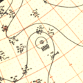 Tropical Storm Baker surface analysis August 03, 1951.png