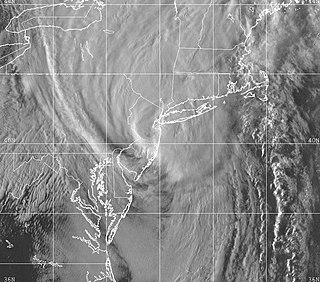 Effects of Hurricane Floyd in New Jersey