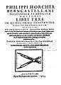 Tructio circini proportionum edocetur. deinde explicatur, quomodo eodem mediante circino, tam quantitates continuae, quam discretae, inter se addi, subduci, multiplicari, et dividi , 1605 - 157525.jpg