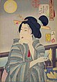 Tsukioka Yoshitoshi - Looking tasty - the appearance of a courtesan during the Kaei era.jpg