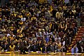 Tubby Smith and Minnesota bench in 2009.jpg