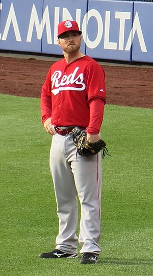 Tucker Barnhart - Barnhart with the Cincinnati Reds in 2016
