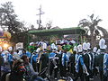 Tulane Band & Float KdET 2009.jpg