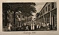 Tunbridge Wells, Kent; view of the parade. Engraving by I. T Wellcome V0014575.jpg