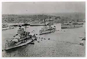 Malta–Turkey relations - The Turkish Fleet visits Malta, 1936