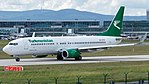 Turkmenistan Airlines Boeing 737-800 (EZ-A016) at Frankfurt Airport.jpg