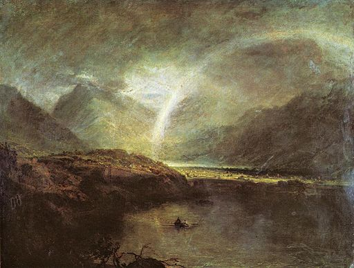 Turner Buttermere Lake with Park of Cromackwater