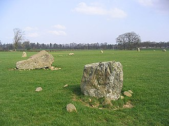 Holywood, Dumfries and Galloway - The Twelve Apostles stone circle