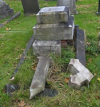 Alfred Tysoe - Alfred Tysoe's grave