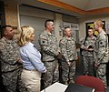 U.S. Army Gen. Frank Grass, center right, the chief of the National Guard Bureau, visits with Soldiers with the 45th Infantry Brigade Combat Team, Oklahoma Army National Guard at the incident command center 130528-Z-VF620-4834.jpg