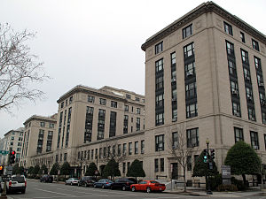United States General Services Administration Building - U.S. General Services Administration Building-E Street facade, March 2009