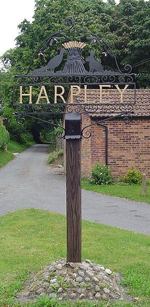 Harpley, Norfolk - Image: UK Harpley
