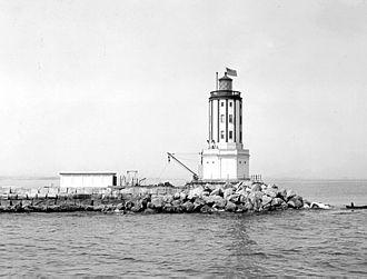 Los Angeles Harbor Light - U.S. Coast Guard Archive
