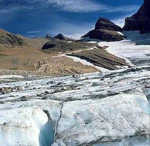 Grinnell glacier, Glacier National Park, Monta...