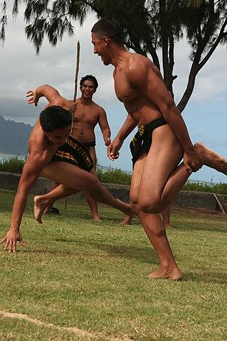 Makahiki - Hawaiian wrestling matches during Makahiki