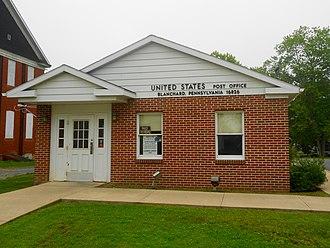 Liberty Township, Centre County, Pennsylvania - Blanchard post office