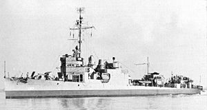 USS Dahlgren (DD-187) - Dahlgren during World War II.