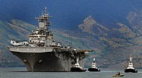 USS Essex enters port at the Subic Bay.jpg