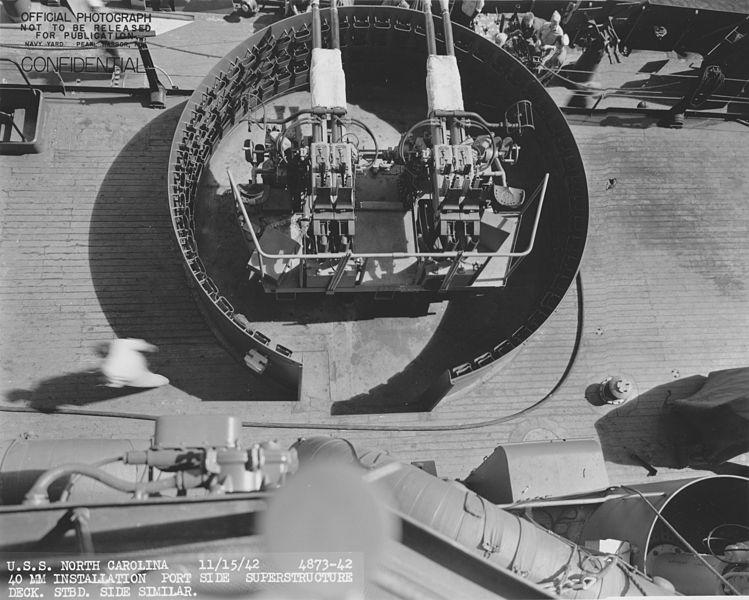 File:USS North Carolina 40mm guns NARA 19LCM-BB55-4873-42.jpg