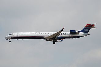 Mesa Airlines - Bombardier CRJ900 operating for US Airways Express