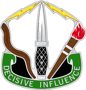8th Military Information Support Group - Distinctive unit insignia