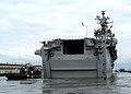 US Navy 050325-N-3725R-002 The amphibious assault ship USS Saipan (LHA 2) gets underway from Naval Station Norfolk.jpg