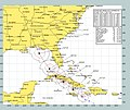 US Navy 050707-N-0000X-002 Graphic depicting the expected track of Hurricane Dennis.jpg