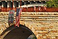 US Navy 070808-N-4515N-028 People gather on the Stone Arch Bridge near the I-35 bridge collapse, to watch Navy divers from Mobile Diving and Salvage Unit (MDSU ) 2.jpg