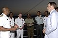 US Navy 071215-F-0509T-086 Leaders from the U.S. and Djiboutian military meet for a reception at end the Operation Image Nautilus aboard the amphibious dock landing ship USS Gunston Hall (LSD 44).jpg