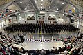US Navy 090314-N-8848T-960 More than 500 Navy Junior Reserve Officers Training Corps (NJROTC) cadets stand ready to begin an Unarmed Knockout at the 2009 Area Three NJROTC West Regional Finals.jpg