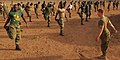 US Navy 100413-N-6138K-442 U.S. Marines assigned to Security Cooperation Marine Air-Ground Task Force (SC-MAGTF) and solders from the Senegalese Armed Forces conduct an Africa Partnership Station West joint physical training se.jpg