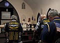 US Navy 100811-N-3560G-001 Cmdr. David Bynum speaks about the lost of naval submarines during the month of Aug. throughout World War II during a special bell-tolling service at Joint Base Pearl Harbor-Hickam Submarine Memorial.jpg