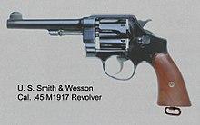 M1917 revolver - Wikipedia