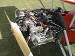Ultralight trike equipped with Volkswagen Beetle engine.jpg