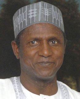 Umaru Musa YarAdua President of Nigeria (2007-2010)
