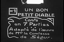 Un bon petit diable (1923).