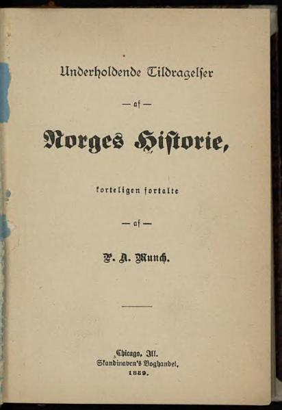 File:Underholdende Tildragelser af Norges Historie.djvu