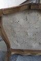 Undersidan av stol - Skoklosters slott - 103895.tif