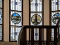 Unfallversicherungsanstalt der Eisenbahner Stiegenhaus Glasmosaik.JPG