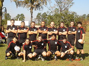 Rugby union in Brazil - Lobo Bravo Rugby - The Wolves