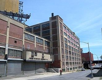 Port Morris, Bronx - Union Standard Equipment at 141st Street