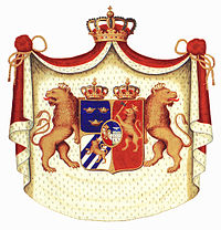 Coat of Arms of the Union between Sweden and Norway