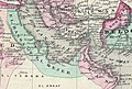 United Arab Emirates. 1870 Johnson Map of Turkey, Persia, Arabia, Balochistan (cropped).jpg