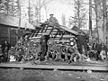 United States Army soldiers at Dyea, Alaska, circa 1899 (AL+CA 231).jpg