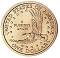 United States one dollar coin, reverse.jpg