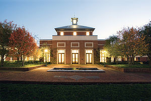 University of Virginia School of Law - Clay Hall and Caplin Pavilion